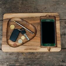 Handmade Wooden stand for your phone.Office gift.Christmas gift idea