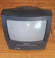 "Sylvania 13"" TV VCR Player Combo 6313CE- TV WORKS- VCR DOES NOT WORK- FOR PARTS"