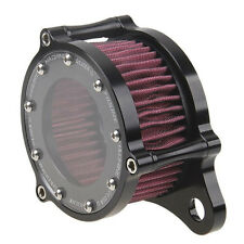 Black CNC  Air Cleaner Intake Filter Kit For Harley Sportster XL 883 1991-2016