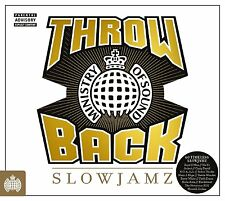 THROWBACK SLOWJAMZ (Ministry of Sound) 3 CD SET (2016)