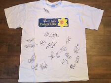 2011 Huddersfield Town Pre Match worn Signed Club COA Marie Curie Football Shirt