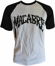Macabre-white/black t-shirt-Black Logo-t-shirt M/Medium (h3) 162751