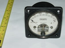 1mA FSD Analogue ELLIOT DC current panel ammeter Meter Vintage 1968
