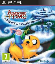 Adventure Time - The Secret of the Nameless Kingdom For PAL PS3 (New & Sealed)
