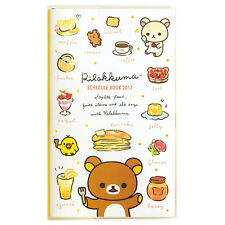 2017 Schedule Book Daily Planner Rilakkuma Slim Monthly