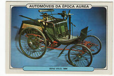 1986 Portugese Pocket Calendar Featuring Vintage Car - Benz Velo 1894