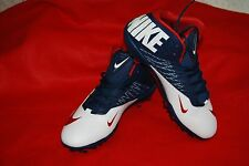 Nike Zoom Code Elite ¾ TD Football Cleat 620499-413  Red White Blue Size 16 NWOB