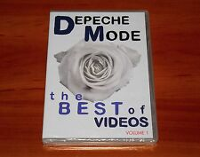 DEPECHE MODE THE BEST OF VIDEOS VOL 1 DVD 23-VIDEO-CLIP & SHORT FILM SEALED