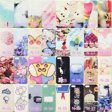 52Style Painted Pattern Hard Back Skin Case Cover For Apple IPhone 4 4S 5 5S