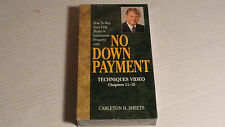 How to Buy Your First Home or Investment Property with No Down Payment VHS New