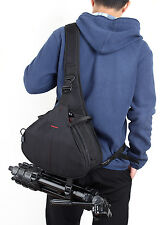 Waterproof DSLR Camera Shoulder Sling Case Bag for Canon Sony Nikon SLR