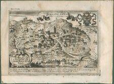 PIAGGINE SOPRA, Salerno (Campania). Dall'opera di G.B. Pacichelli. Napoli, 1703