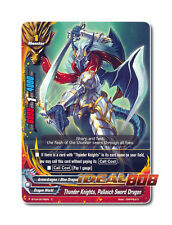 Buddyfight x 4 Thunder Knights, Pallasch Sword Dragon - BT04/0076EN (C) Common M