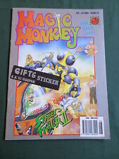 DR LEUNG TING'S - MAGIC MONKEY COMIC - #5 -1992 - INC FREE GIFT - VG