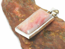 Pink  OPAL  Sterling  Silver  925   Gemstone  PENDANT  -  Gift  Boxed!