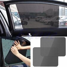 2x Car Rear Window Side Sun Shade Cover Block Static Cling Visor Shield