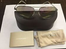 Oliver Peoples Benedict OV1002S 5036S5-59,  Silver Chrome Violet Sunglasses