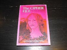 Vintage 1971 The Cipher File St. Croix's Cipher Kit puzzle game