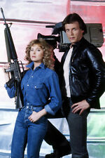 Faye Grant, Marc Singer V 11x17 Mini Poster with rifle and camera