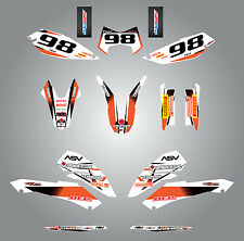 Full  Custom Graphic  Kit -STORM - KTM LC4 SMC 690