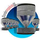 8 x ABSORBER Noicekiller Dynavox Spikes Chrom BOXENFÜßE Lautsprecher-Füße big