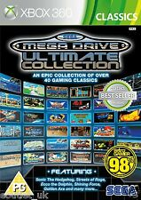 SEGA Mega Auto Ultima Collection giochi retrò for Xbox 360 X360 NUOVO SIGILLATO