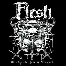 1 CENT CD Worship the Soul of Disgust - The Flesh SEALED/IMPORT/DEATH METAL
