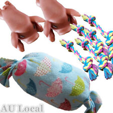 Pet Dog Chew Toys Pillow Floss Rope Squeaky Pigs PPILL0102X1+PROPE0201X5+PTPIGX2