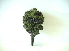 """Vintage HO Scale Model Train Layout Accessory  4 1/2"""" Tall Tree"""