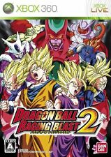 USED Dragon Ball: Raging Blast 2 Japan Import Xbox 360