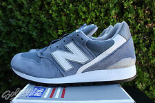 NEW BALANCE 996 SZ 8.5 AGE OF EXPLORATION MADE IN USA BLUE BELL SILVER M996CHG