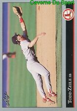432   TODD ZEILE    ST. LOUIS CARDINALS  BASEBALL CARD LEAF 1992