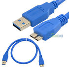 Super Fast 1.5Ft USB 3.0 A Male Plug To Micro B Male Extension Cable Wire