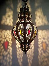 Lustre Marocain fert forgé lampe lanterne plafonnier applique luminaire orient 3