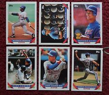 1993 Topps Montreal Expos Baseball Team Set (27 Card) ~ Gary Carter Larry Walker