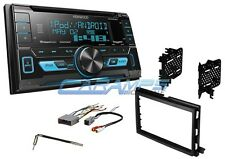 KENWOOD CAR STEREO W/ USB/AUX INPUTS & SIRIUS XM RADIO WITH DASH KIT & CD PLAYER