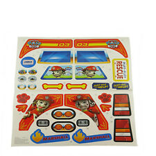 Power Wheels DGL23 Firetruck Label Decal Sheet Genuine Fisher Price