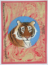 Animal Tiger Wild Life Handmade Painting Artist Artwork  Art Gallery Bird_AR85