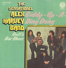 "SENSATIONAL ALEX HARVEY BAND ‎– Giddy Up A Ding Dong (1973 SINGLE 7"" GERMAN PS)"