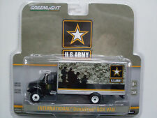 "International Durastar Box Van ""US Army"", Greenlight 1:64 limited Edition"