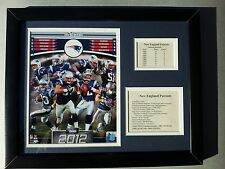2012 New England Patriots Super Bowl Champions 11x14 Collage Framed & Matted