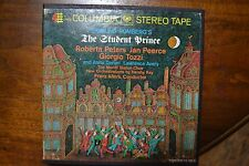 SIGMUND ROMBERG'S - THE STUDENT PRINCE PETERS PEERCE TOZZI IPS 7INC Reel-to-Reel