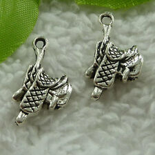 free ship 180 pieces tibet silver saddle charms 22x12mm #2862