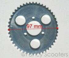 Rear Sprocket 47 Teeth for 25H (6mm Pitch) Chain for Mini Gas Scooters