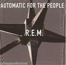 R.E.M. - Automatic For The People (EU/UK 11 Trk 1992 CD Album)