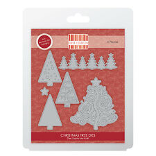 FIRST EDITION  CHRISTMAS TREES DIES 6 PIECES ON MAGNETIC SHEET
