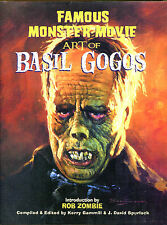 Famous Monster Movie Art of Basil Gogos-1st Ed./DJ-2005-Rob Zombie Introduction