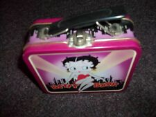 Betty Boop Mini Lunch Box collectible Cityscape FREE MYSTERY GIFT IF YOU WIN