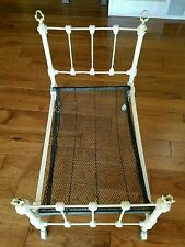 Antique/Vintage Salesman Sampler Iron bed