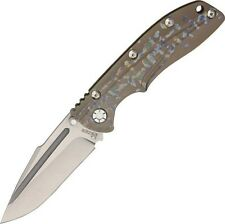 "Kizer Cutlery KI412A2 Titanium Framelock Folding Blade Knife 4 5/8"" Closed"
